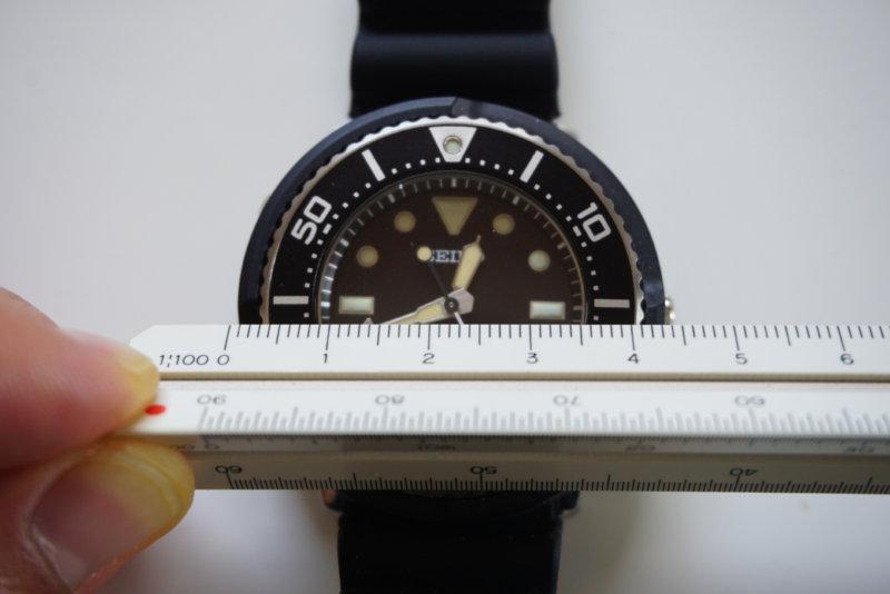 seiko SBDN043 実寸サイズ