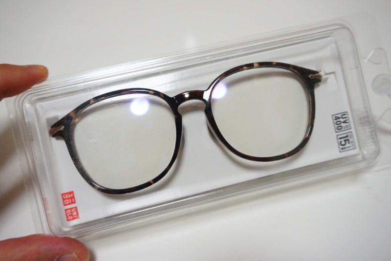 《ユニクロ》1500円のメガネが高級感ありすぎて即買い!