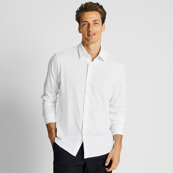 ユニクロ|イージーケアジャージーシャツを正直にレビュー