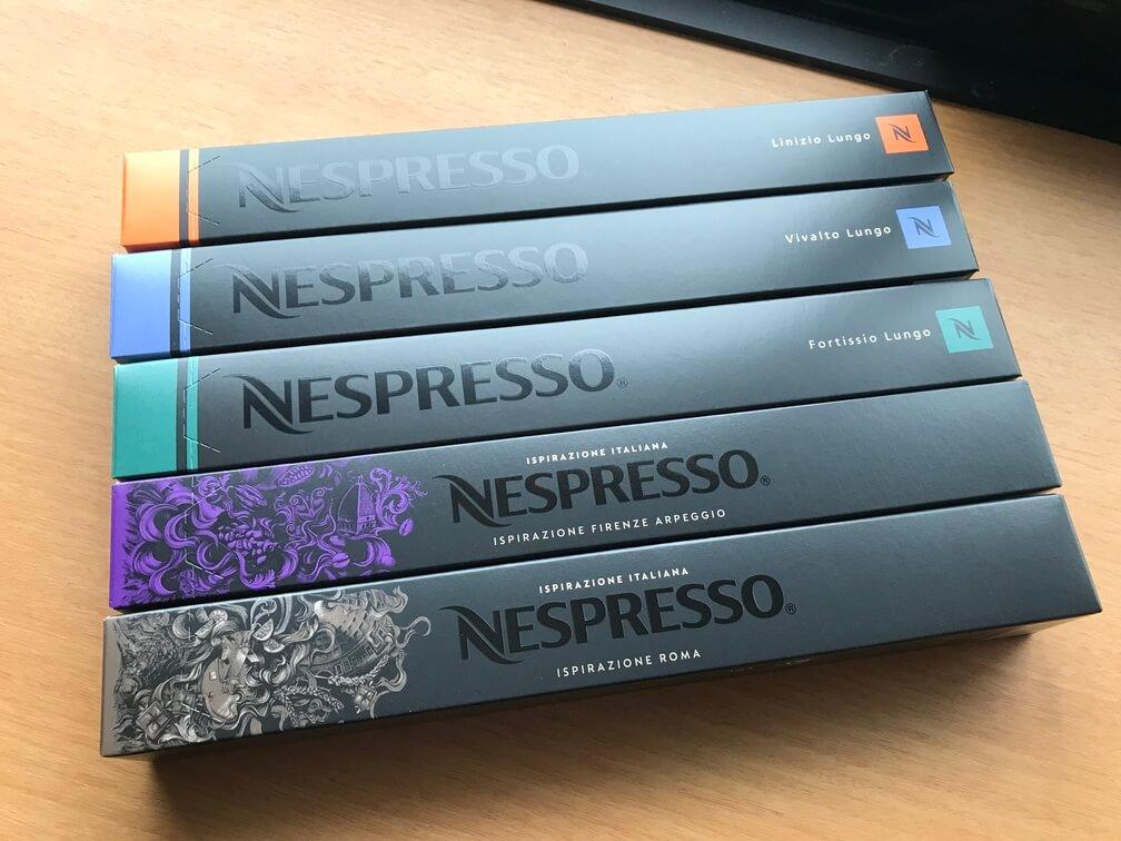 ネスプレッソのカプセルを購入