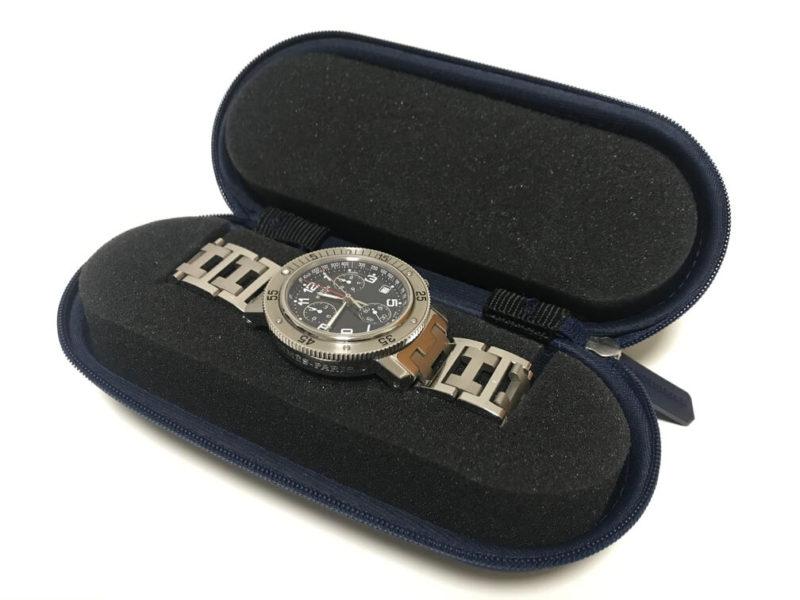 《ウォッチケース》腕時計の持ち運びにはコレがあればOK!