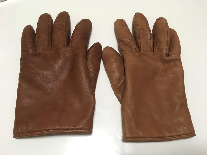 クロエ 革手袋のお手入れ