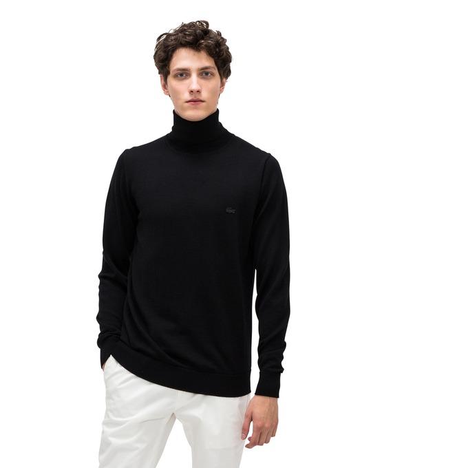 ラコステ - メンズウォッシャブル メリノウール セーター