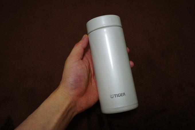 タイガーの水筒を酸素系漂白剤で洗ってみた