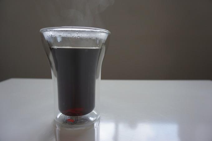 ボダムのダブルウォールグラスは電子レンジが使用可能