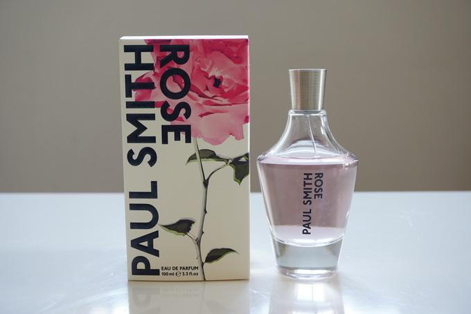 ポールスミスの香水ローズオーデパルファムをレビュー