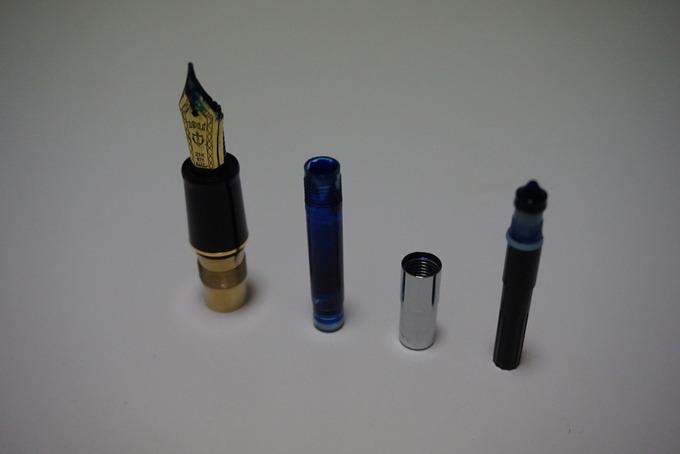 万年筆の簡単な洗浄メンテナンス